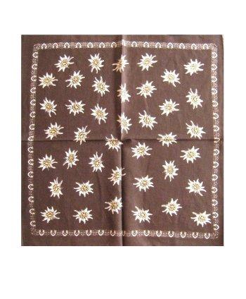 Edelweiss bloemetjes zakdoek