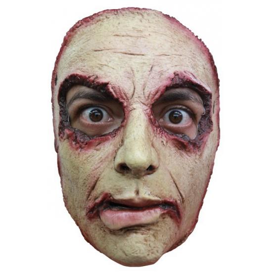 Enge man masker gemaakt van rubber