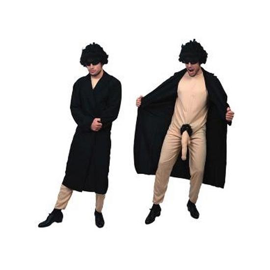 Exhibitionist fun kostuum