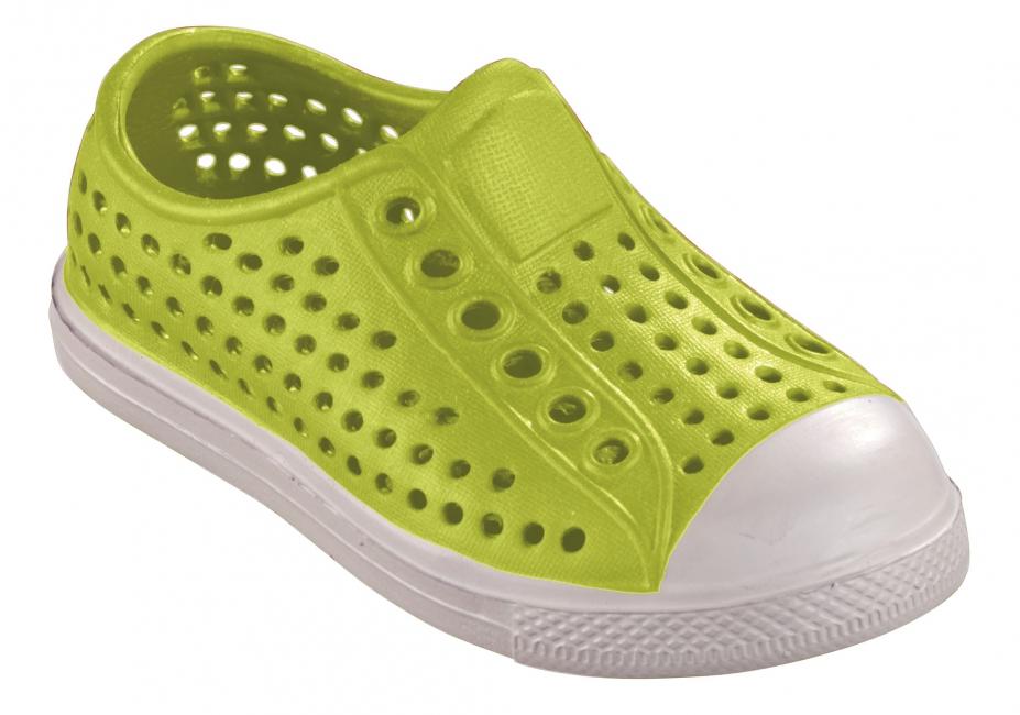 Extra lichte waterschoen voor kids groen