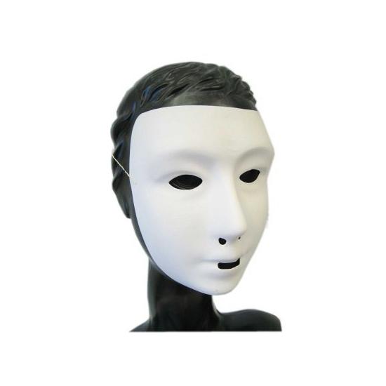 Feest grimeer masker wit
