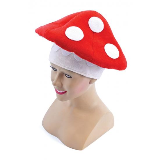 Feest paddenstoel hoed volwassenen