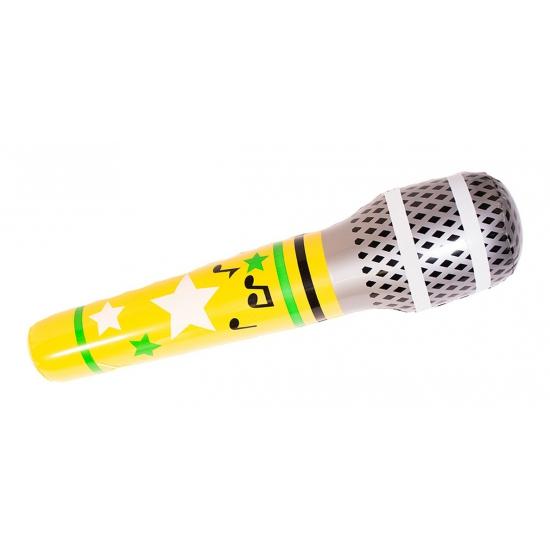 Feestartikelen opblaas microfoon