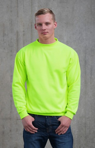 Fel groene Just Hoods trui