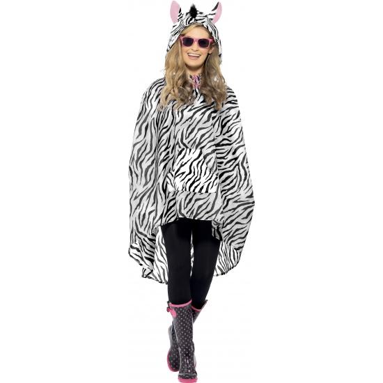 Festival regenponchos zebra