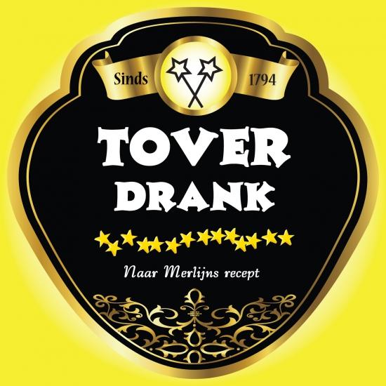 Fles etiket Toverdrank
