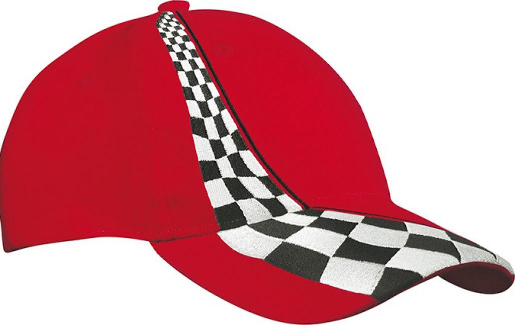 Formule 1 baseballcaps rood