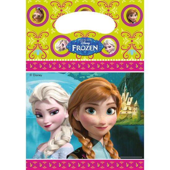 Frozen uitdeelzakjes 6 stuks
