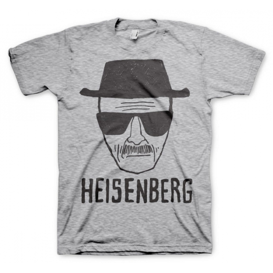 Fun shirt Heisenberg Sketch grijs