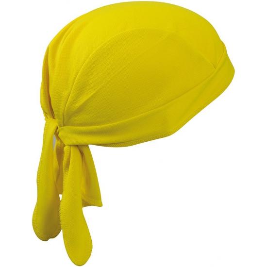 Geel bandana volwassenen
