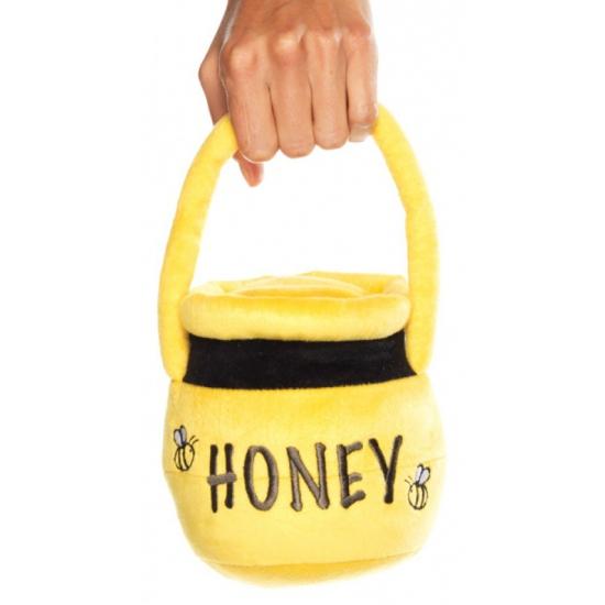 Geel honingpot tasje