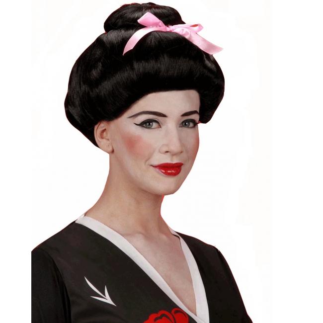 Geisha pruik voor dames
