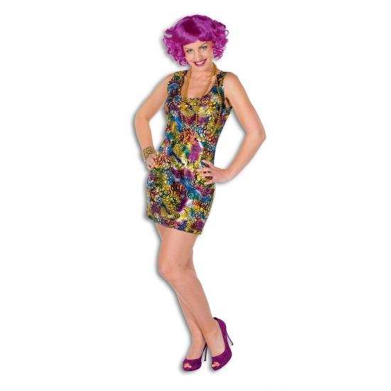 Gekleurde dames jurkjes