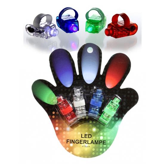 Gekleurde lampje voor op je hand