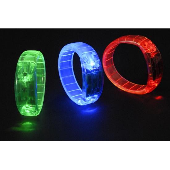 Gekleurde LED armband