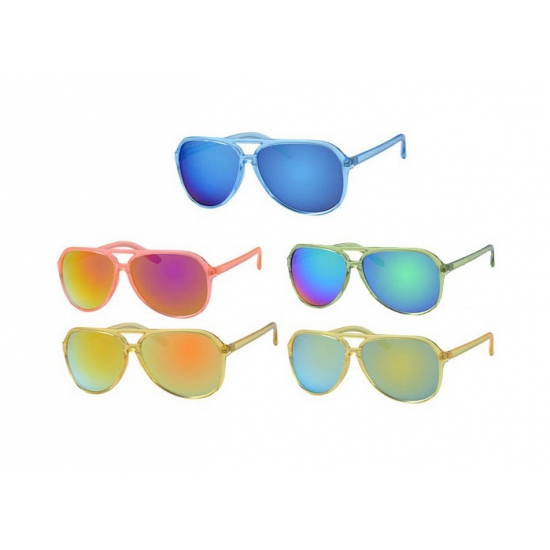 Gekleurde party bril heren