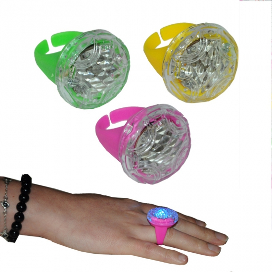Gekleurde ring met lichtje