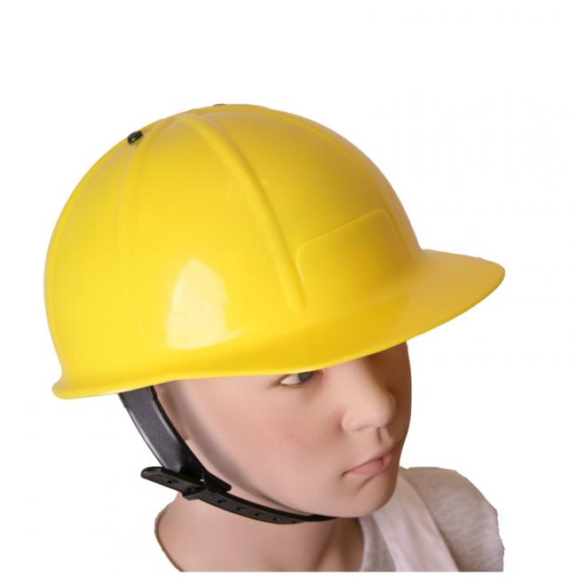 Gele helm voor kinderen