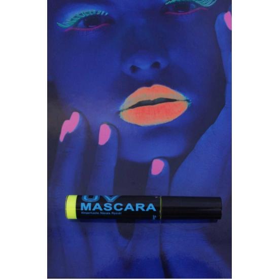 Gele mascara UV licht