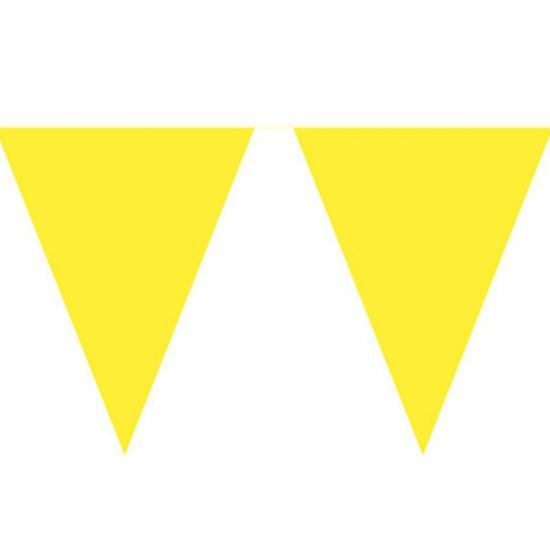 Gele vlaggenlijnen