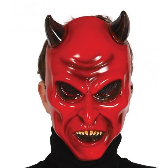 Gezichtsmasker duivel voor volwassenen