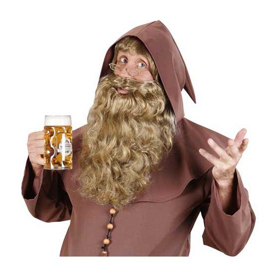 Golvend blonde baard voor volwassenen