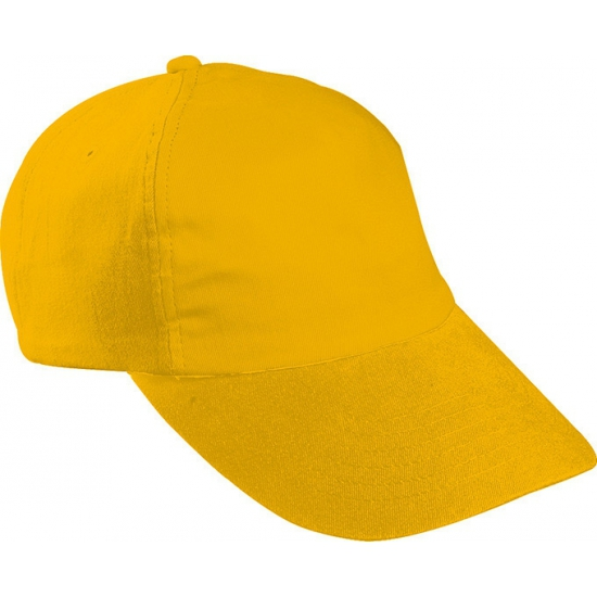 Goud gekleurde kinder baseballcaps