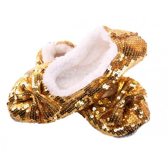 Gouden glitterende pailletten