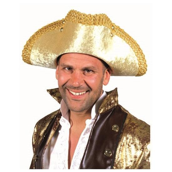 Gouden hoed voor volwassenen