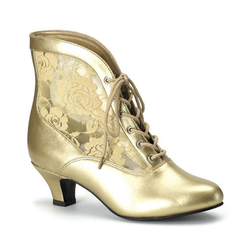 Gouden piraat schoenen voor dames