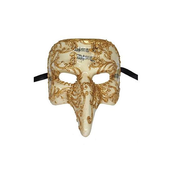 Gouden Venetiaanse carnavals maskers