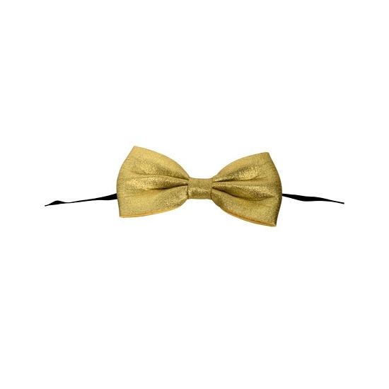 Gouden vlinderstrik 13, 5 cm