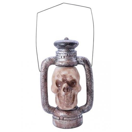 Griezelige doodshoofd lantaarn