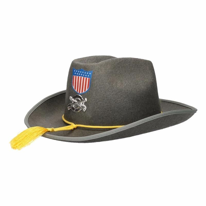 Grijze Western hoeden