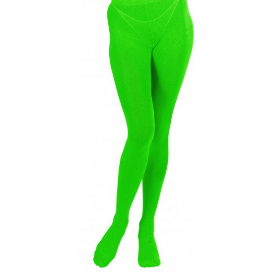 Groene panty voor dames