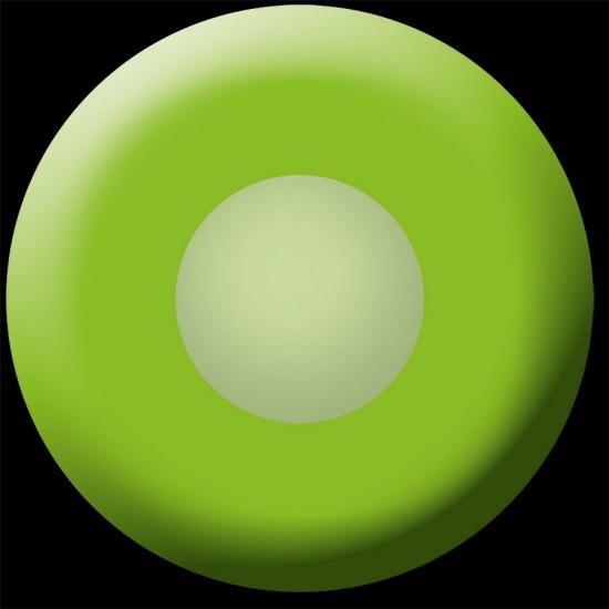 Groene UV kleurlenzen