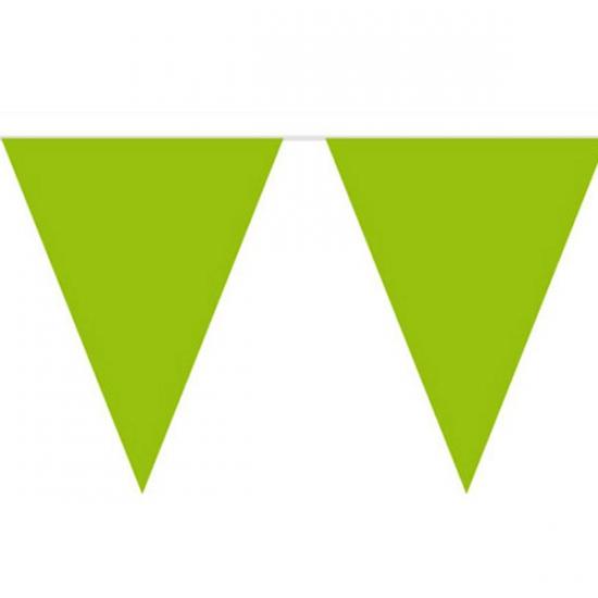 Groene vlaggenlijnen