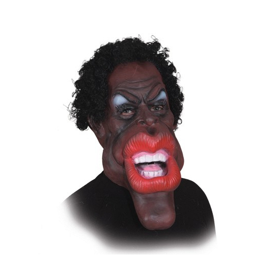 Grote mond masker van latex