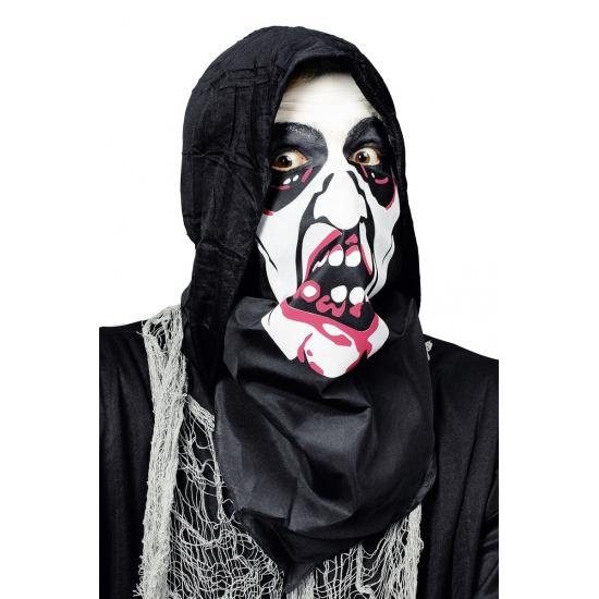 Half gezicht dracula masker
