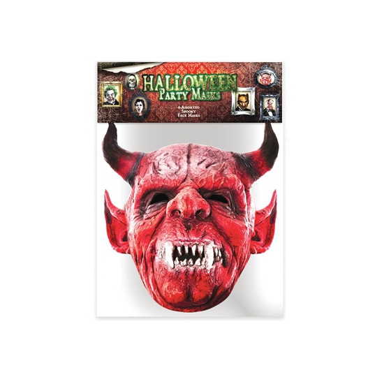 Halloween Duivel masker