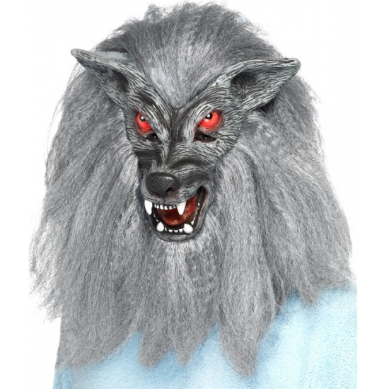 Halloween griezel masker weerwolf