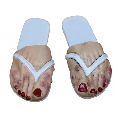 Halloween Horror dames voeten