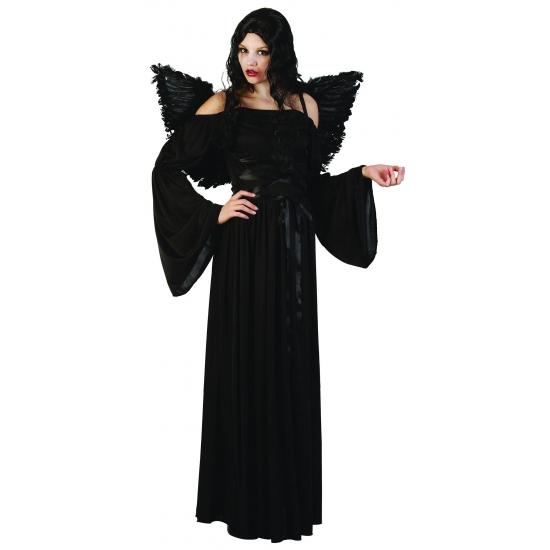 Halloween kostuum jurk zwart