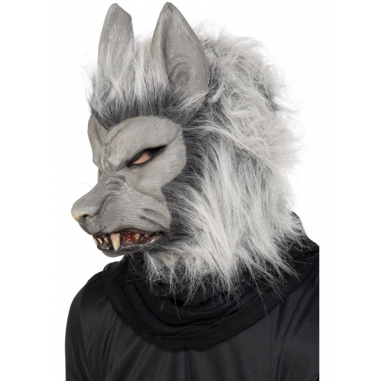 Halloween masker weerwolf