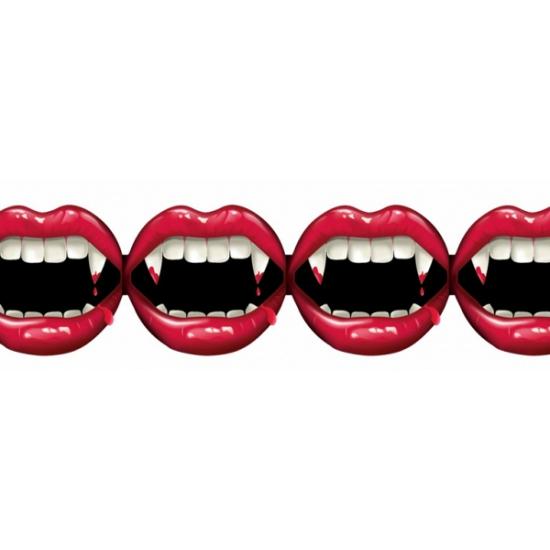 Halloween Slinger vampier tanden van papier