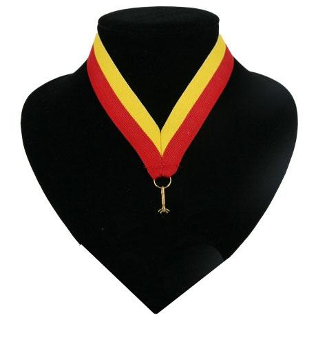 Halslint rood en geel