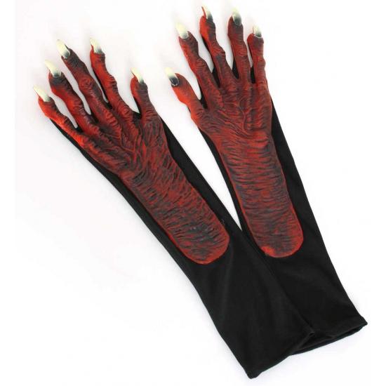 Handschoenen met duivelshanden