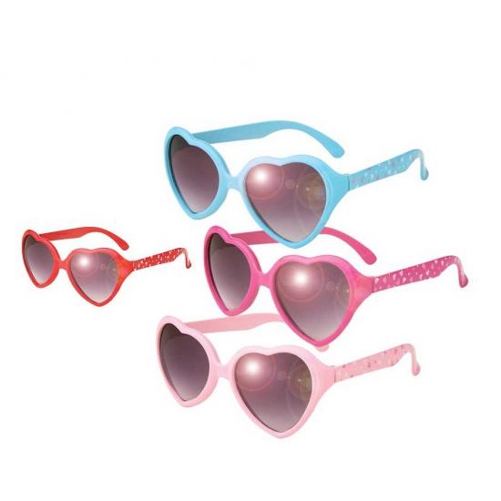 Hartjes zonnebril voor kinderen