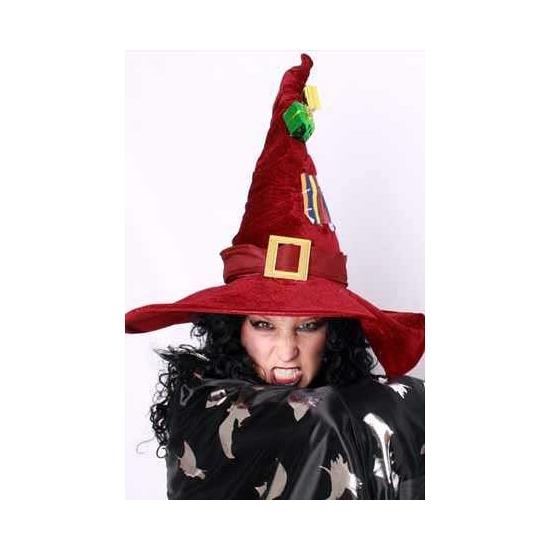 Heks verkleed accessoire hoed