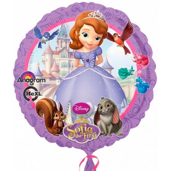 Helium ballon Prinses Sofia